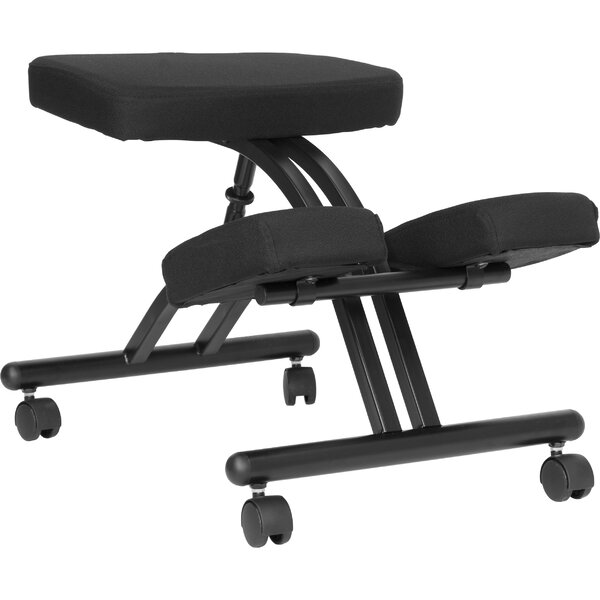 Woodsburgh Mobile Kneeling Chair with Dual Chair