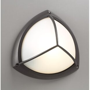 Troxell 1-Light Outdoor Flush Mount By Ebern Designs Outdoor Lighting