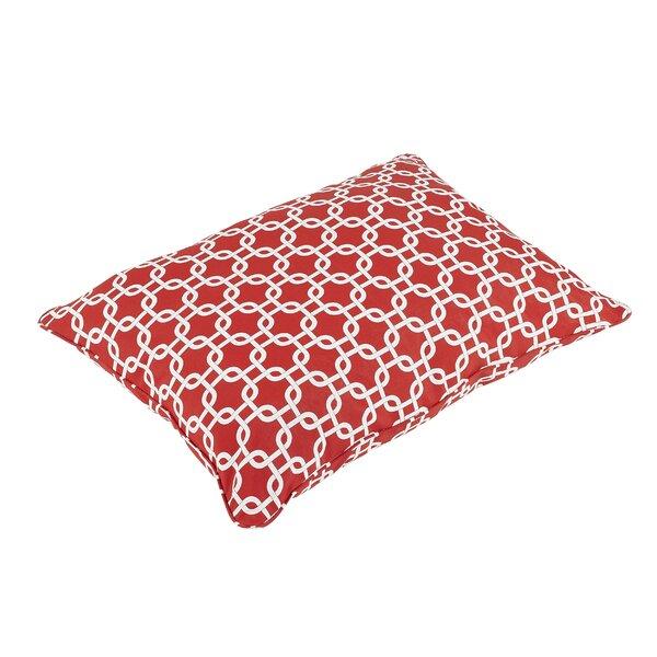 Replogle Linked Rectangle Indoor/Outdoor Piped Floor Pillow by Brayden Studio