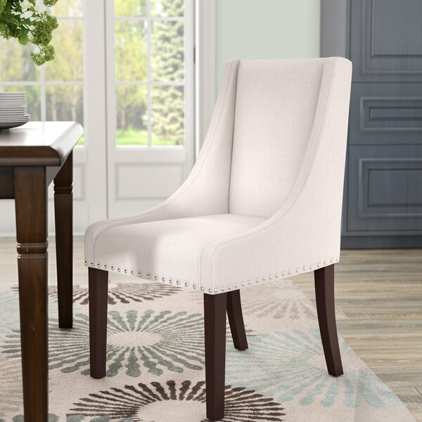 Flossmoor Upholstered Dining Chair (Set of 2) by Darby Home Co