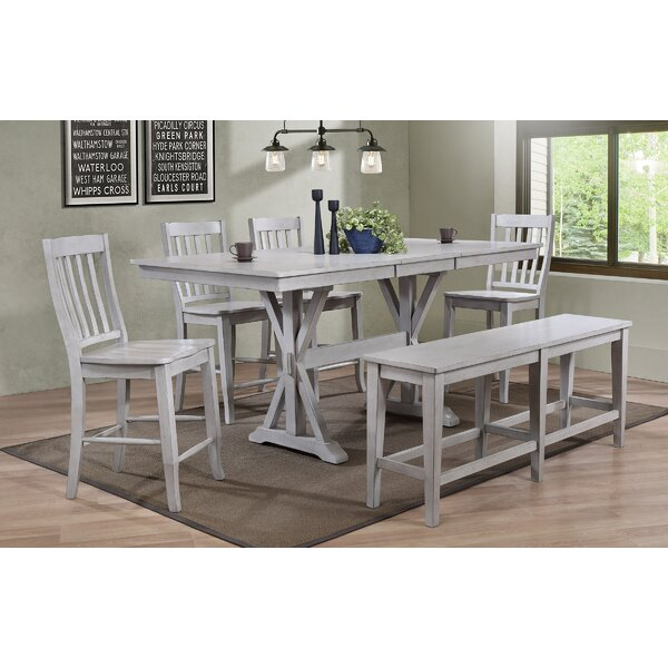 Clennell 6 Piece Pub Table Set by Gracie Oaks