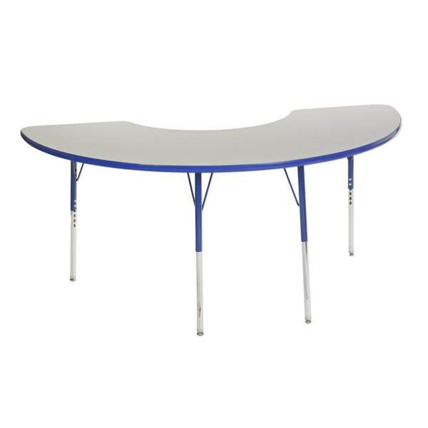 7 Piece Kidney Activity Table & 14 Chair Set by ECR4kids