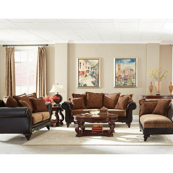Biggerstaff 3 Piece Living Room Set by Fleur De Lis Living