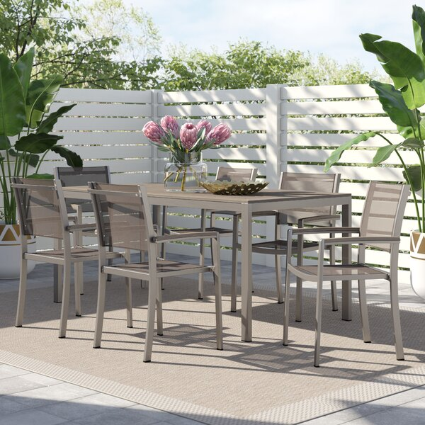 Willa Arlo Interiors 7 Piece Dining Set by Willa Arlo Interiors
