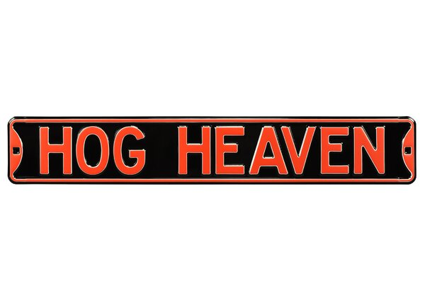 Hog Heaven Wall Décor by Authentic Street Signs