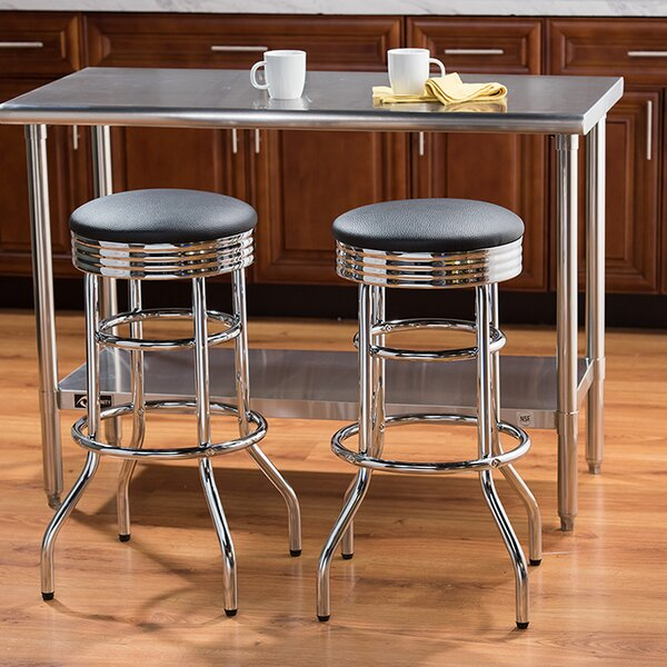 30 Swivel Bar Stool (Set of 2) by Trinity