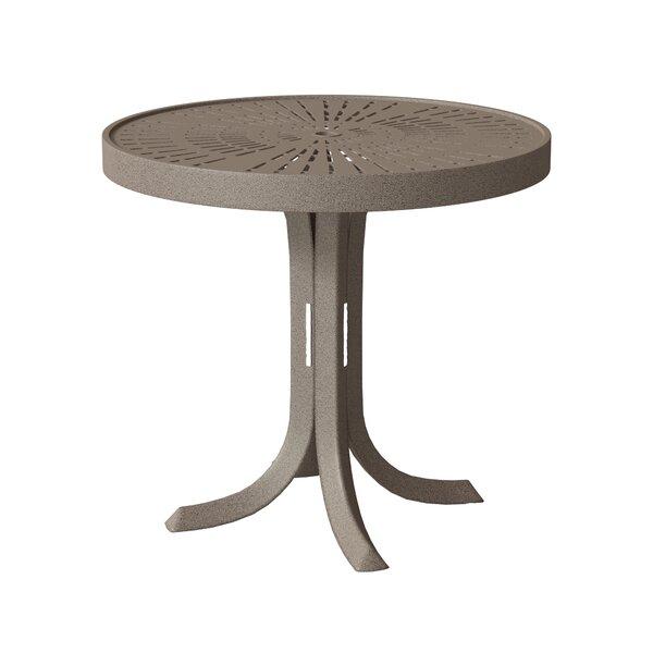 La'Stratta Metal Side Table by Tropitone Tropitone