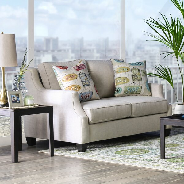 Cuadra Loveseat by Rosecliff Heights