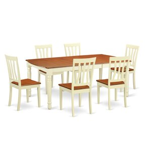 Dover 7 Piece Dining Set by Wooden Importers