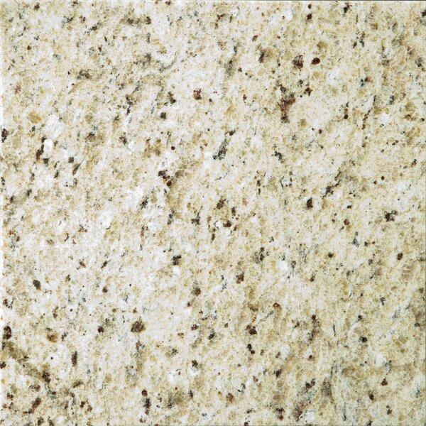 Natural Stone 12 x 12 Granite Field Tile in Giallo Ornamental by Emser Tile