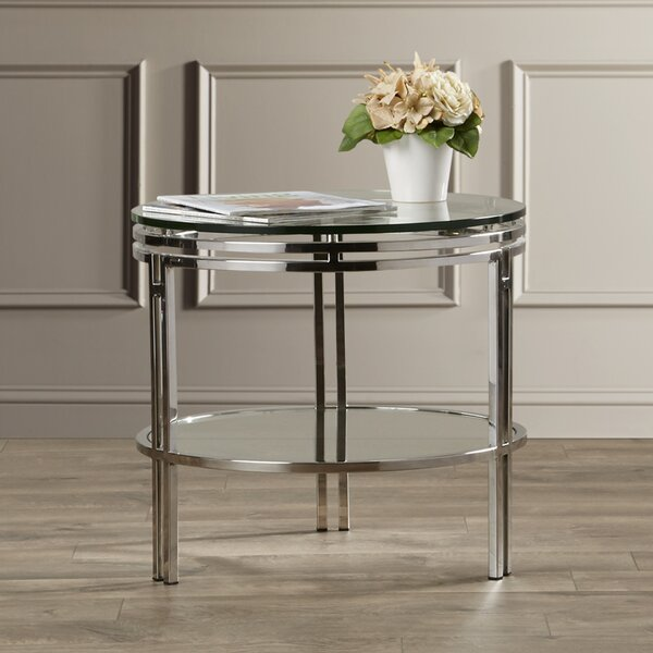 Deville End Table by Everly Quinn