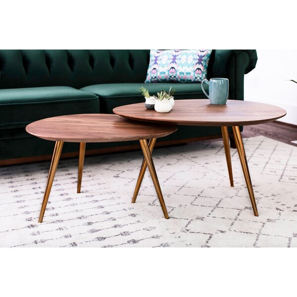 Sandisfield 2 Piece Coffee Table Set by George Oliver