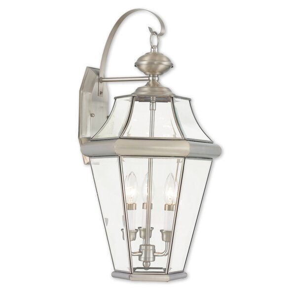 Violetta 3-Light Outdoor Wall Lantern by Darby Home Co