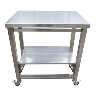 The Flip And Fold Work Station Kitchen Cart
