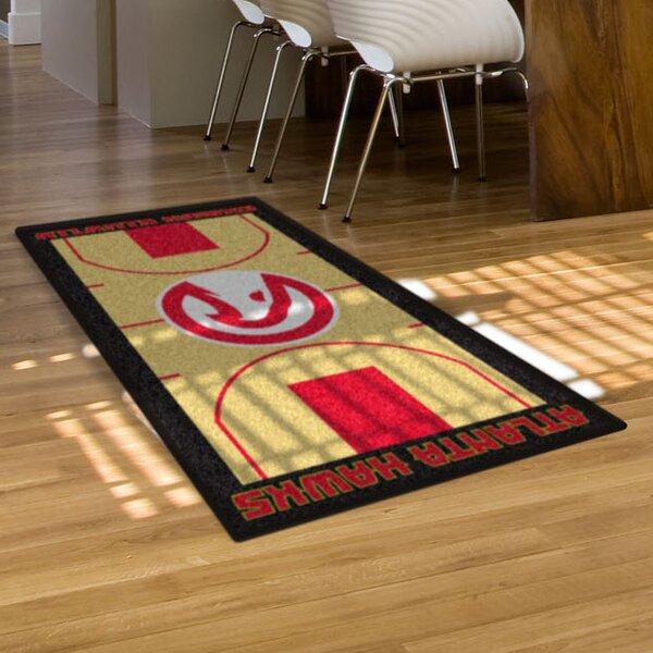 NBA - Atlanta Hawks NBA Court Runner Doormat by FANMATS