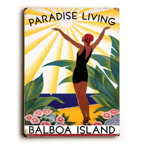 Paradise Living Vintage Advertisement by Artehouse LLC