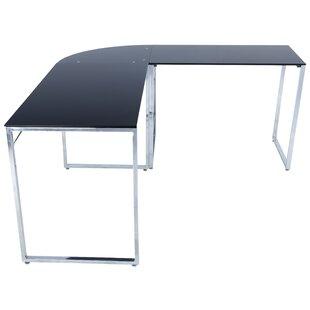 Lan L-Shape Credenza desk