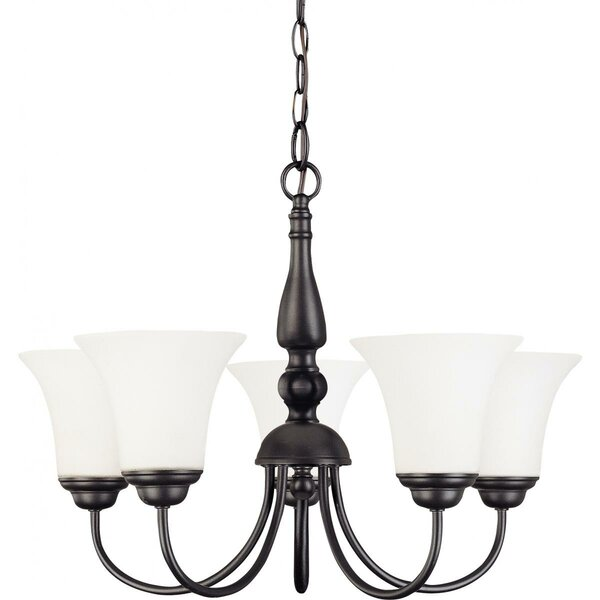 Zarate 5 - Light Shaded Classic / Traditional Chandelier By Charlton Home
