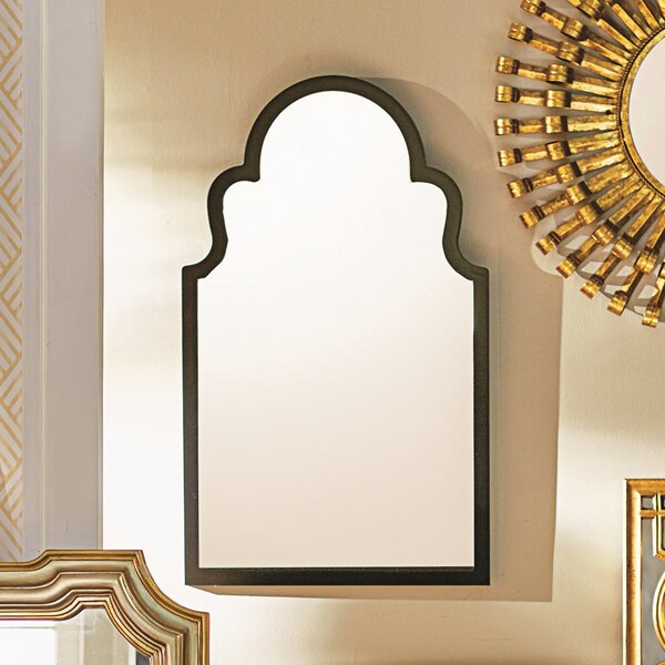Fifi Contemporary Arch Wall Mirror by Willa Arlo I