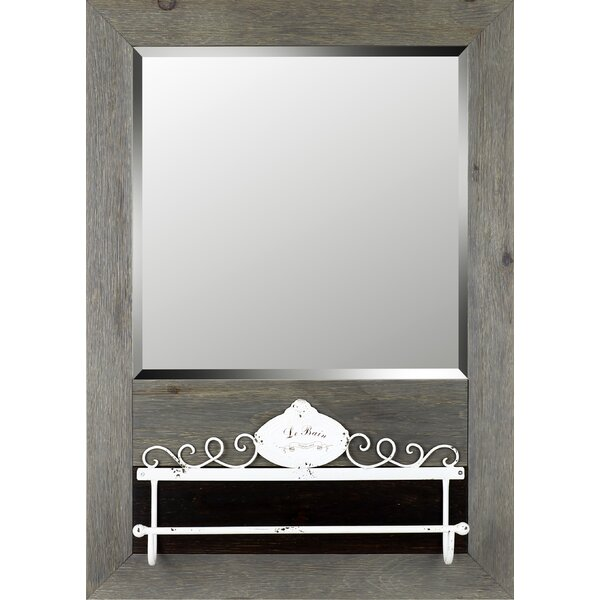 Cian Wall Mirror Bathroom/Vanity Mirror by Gracie Oaks
