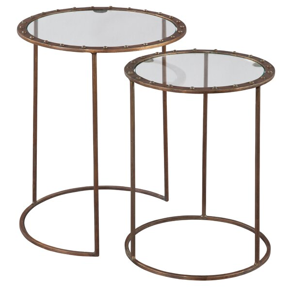 Person 2 Piece Nesting Tables by 17 Stories