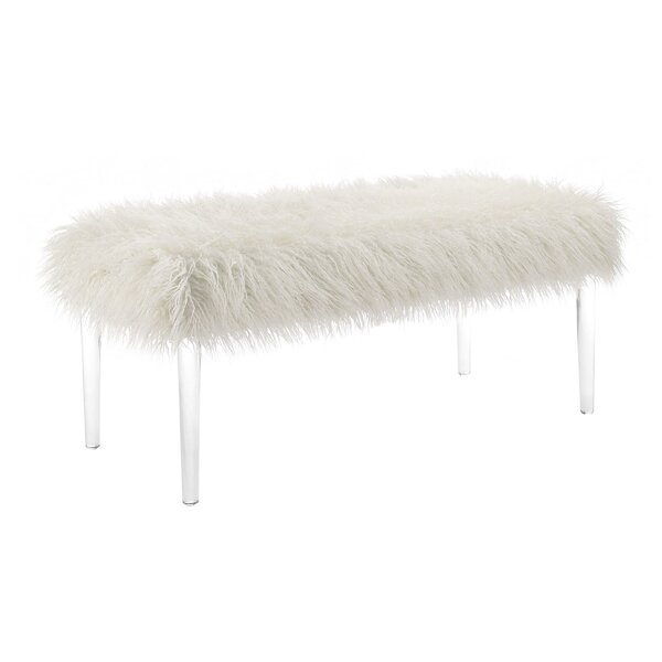 Whittington Upholstered Bench by House of Hampton