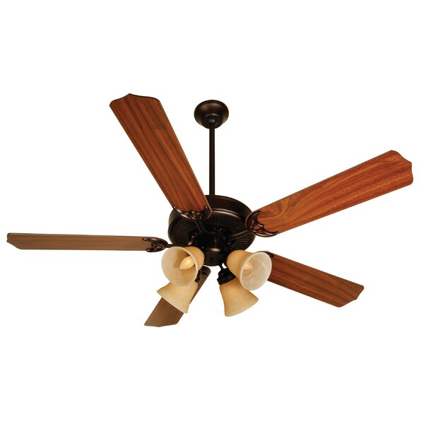 52 Palatine 5 Blade LED Ceiling Fan by Charlton Home