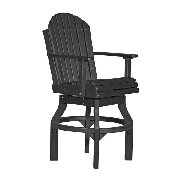 Appell Adirondack Bar Height Swivel Patio Dining Chair By Ebern Designs