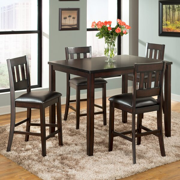 Americano 5 Piece Pub Table Set by Vilo Home Inc.