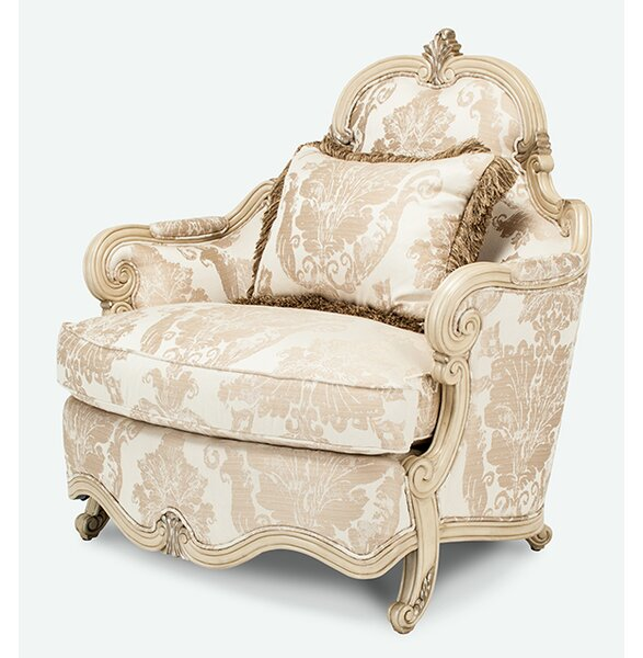 Platine De Royale Chair and a Half by Michael Amini