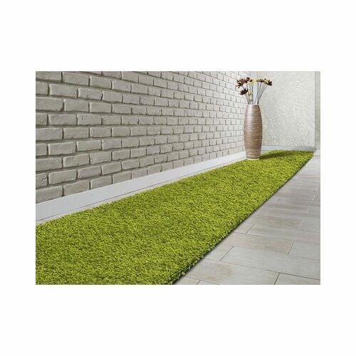 Equinox Tufted Green Rug Ebern Designs Rug Size: Runner 80 x