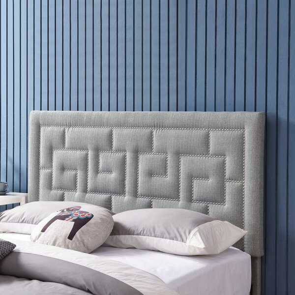 Keffer Upholstered Panel Headboard by Mercer41