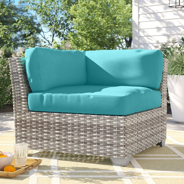 Falmouth Corner Patio Chair with Cushions by Sol 72 Outdoor
