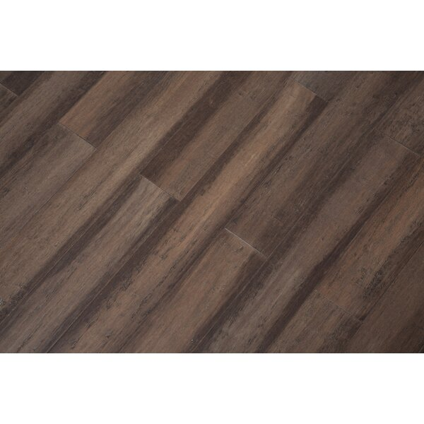 5 Engineered Bamboo  Flooring in Granite by Bamboo Hardwoods