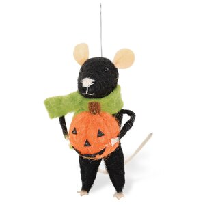 Hallo-Mouse Edward Ornament (Set of 2)