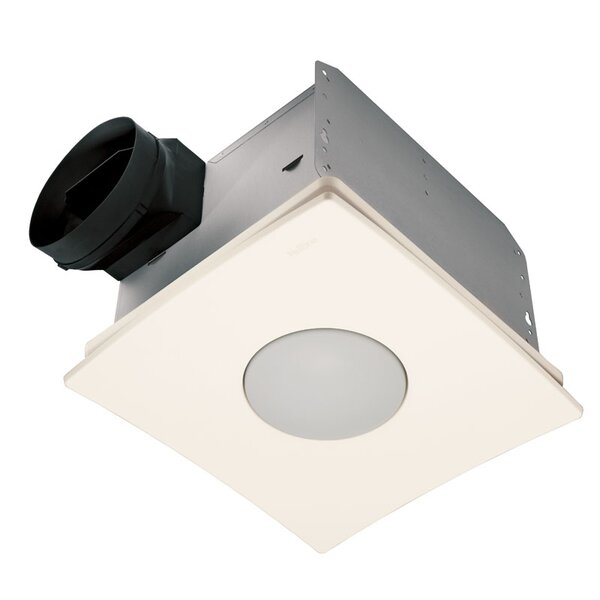 Ultra Silent Quietest Bathroom Fan with Fluorescent Light - Energy Star by Broan