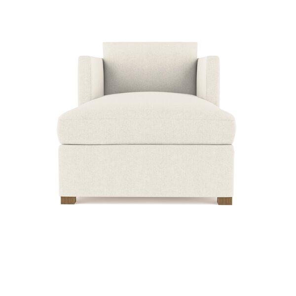 Leedom Linen Chaise Lounge
