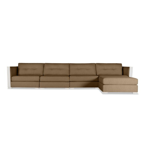 Steffi Plush Deep Modular Sectional with Ottoman by Orren Ellis