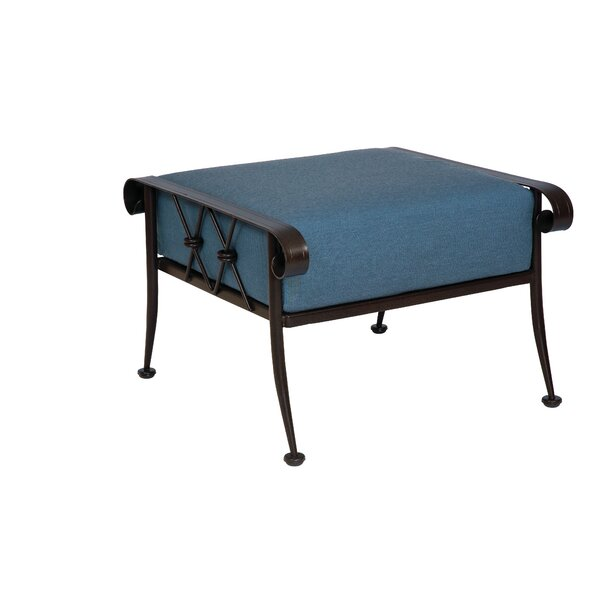 Derby Outdoor Ottoman With Cushion by Woodard