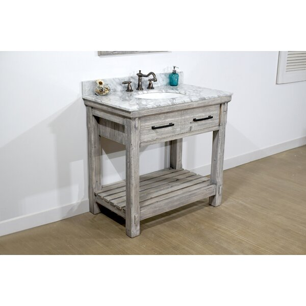 Adam 37 Single Bathroom Vanity Set by Millwood Pines
