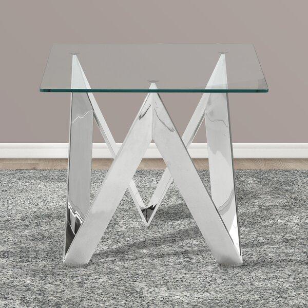 Hummel Square End Table by Orren Ellis