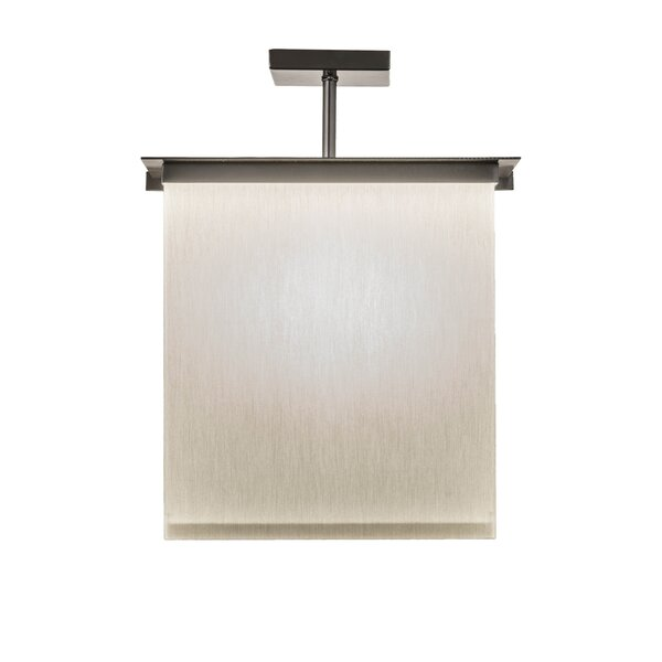 2-Light Square/Rectangle Chandelier by Meyda Tiffany