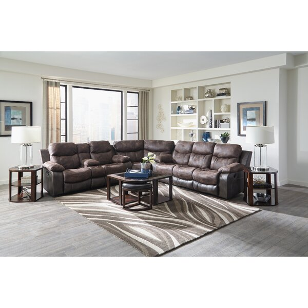 Henderson Reclining Sectional by Catnapper