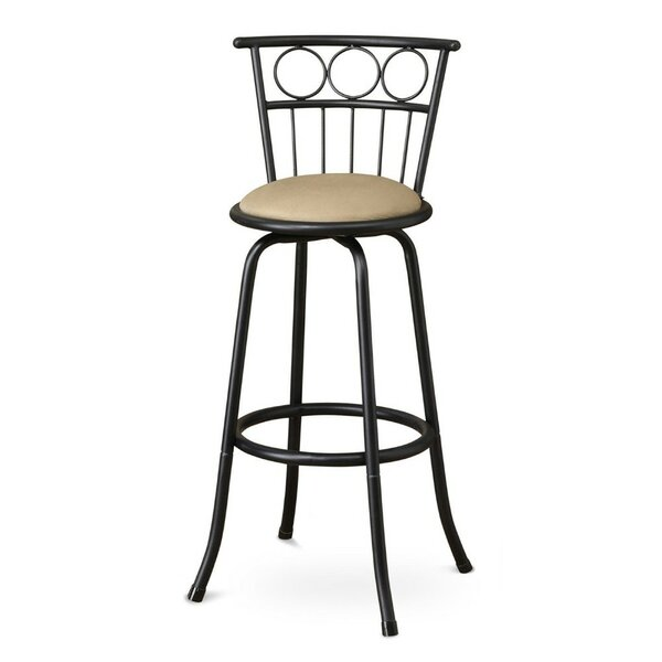 Gittens Adjustable Height Swivel Bar Stool (Set of 2) by Fleur De Lis Living
