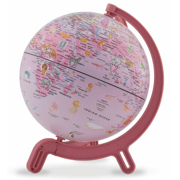 Kids Animals Globe by Zoomie Kids