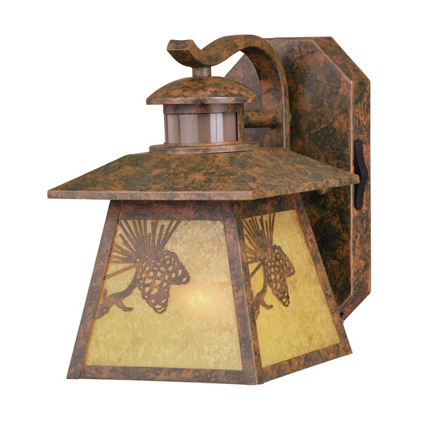 Sunday Dualux® 1-Light Wall Lantern by Millwood Pines