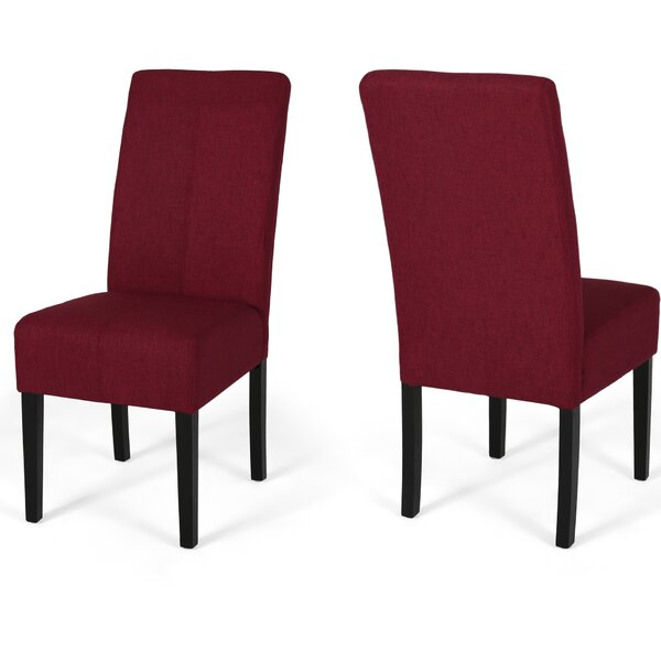 Googe Upholstered Dining Chair (Set of 2) by Latitude Run