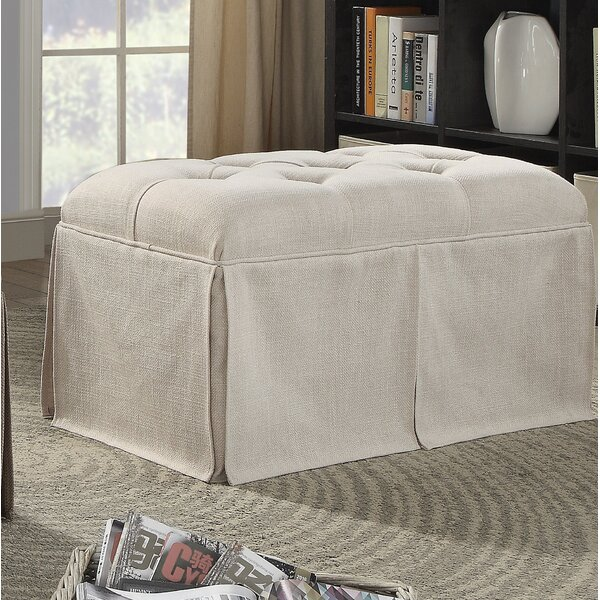 Angustain Upholstered Storage Bench by Alcott Hill