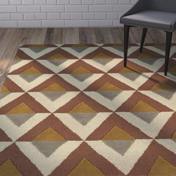 Serpens Handmade Brick Area Rug by Wrought Studio