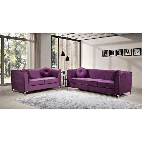 Doucette Living Room Set by Mercer41